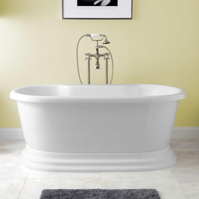 25 best ideas about pedestal tub on pinterest dream Best acrylic tub