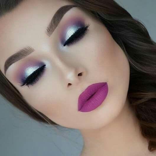 Wow that eye makeup...  the lip colour too  @jessicarose_makeup