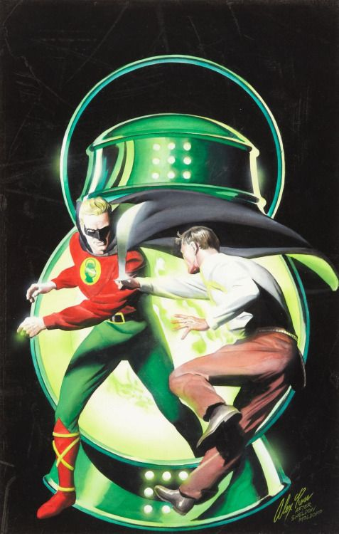 Golden Age Green Lantern • Alex Ross