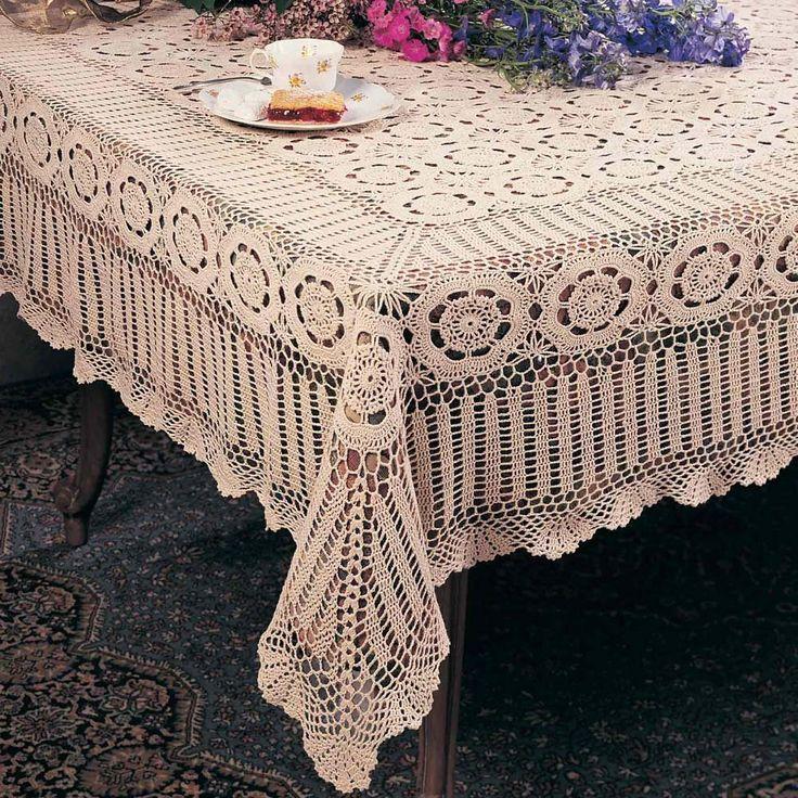 Handmade Crochet Lace Tablecloth