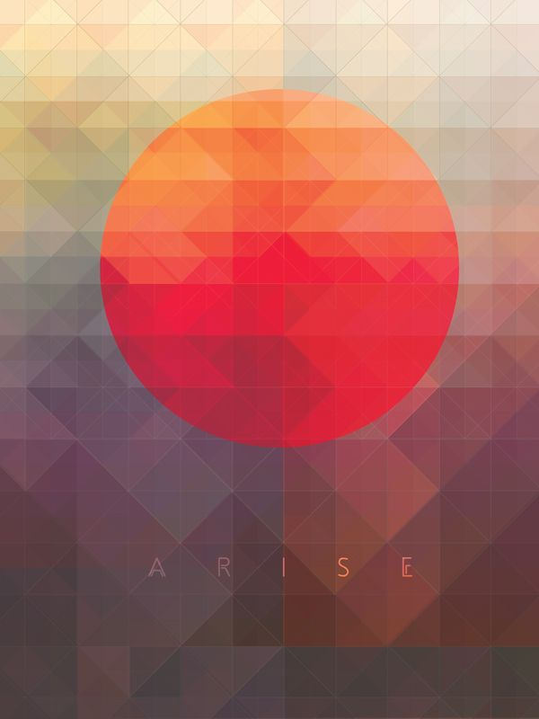 Arise by Maria Grønlund, via Behance