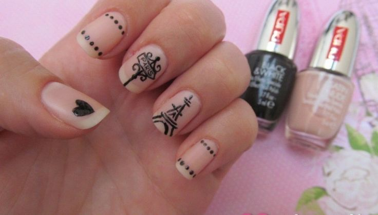 Nails of the Day Paris In Love Nail Art Tutorial