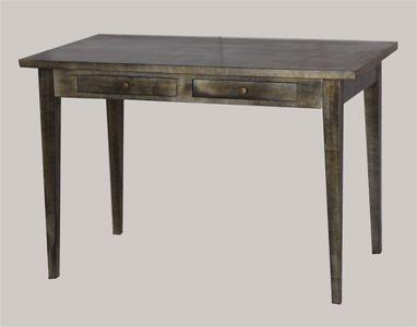 Antiikkiviimeistelty pöytä juvi.fi #industrial #desk #kirjoituspöytä #juviproduction