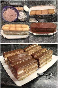 Bisküvili Mousse Pastası Tarifi
