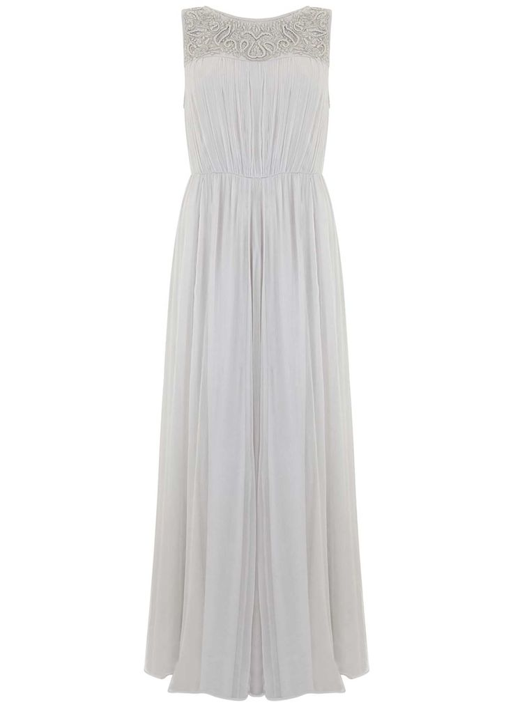 Dove Chiffon Maxi Dress