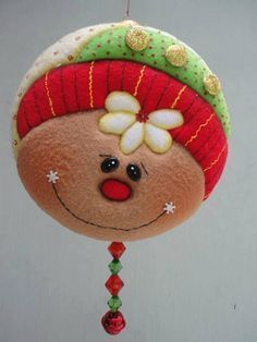 bolas de icopor decoradas para navidad - Buscar con Google