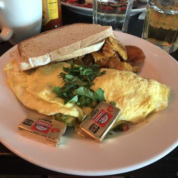Photo of The Front Porch Cafe - Miami Beach, FL, United States. Mexican omelette