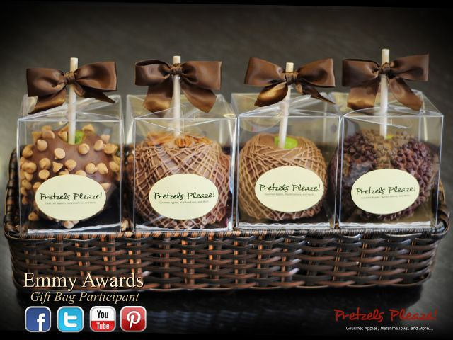 Chocolate Covered Apple Basket by Pretzels Pleaze in the Historic District of Tomball, Texas
