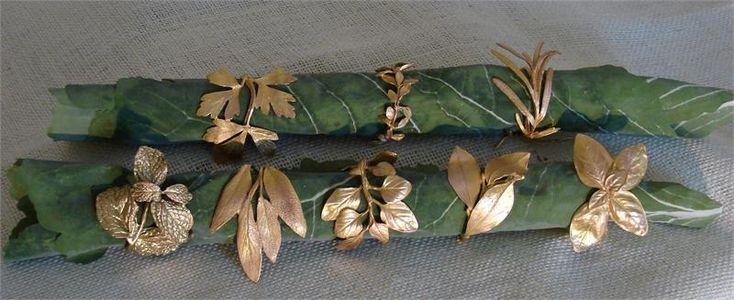 copper napkin rings - Google Search