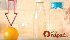 Skvelý recept, ako pripraviť 2 litre domáceho džúsu z jediného pomaranču. Je to jednoduché a hravo to zvládnete za pár minút. Prekvapte svoju rodinu čerstvým domácim džúsom.