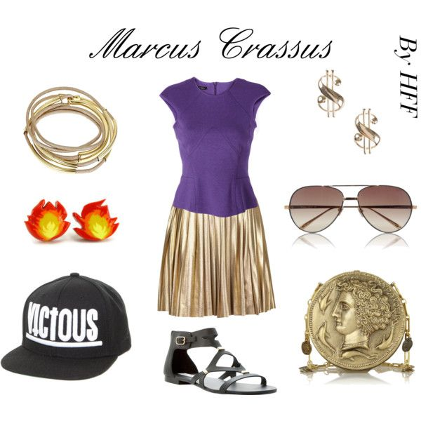 """Marcus Crassus"" by historical-fashion-fix on Polyvore"