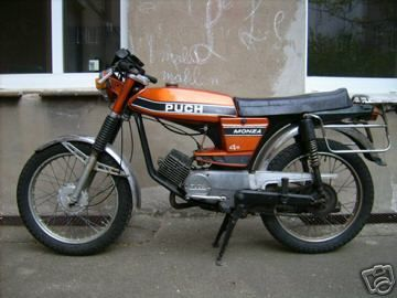 1977 Puch Monza 4 S Mine looked exactly like this one