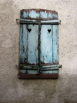 beautiful old shutters