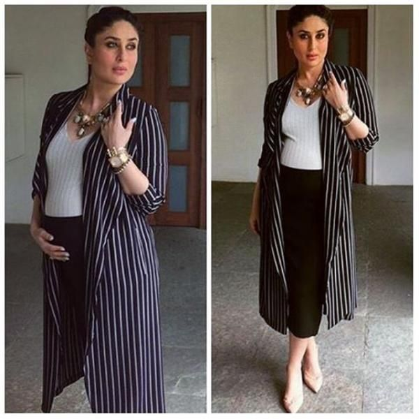 Kareena Kapoor Khan shows us how to dress for those fancy holiday parties while you're pregnant! | PINKVILLA