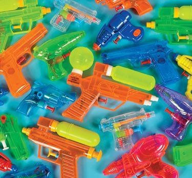 12  Water Squirt Guns  Assorted  Plastic  New  Squirter Toys Water Guns Summer Party Favors Pool Toys ** You can find more details by visiting the image link.Note:It is affiliate link to Amazon.