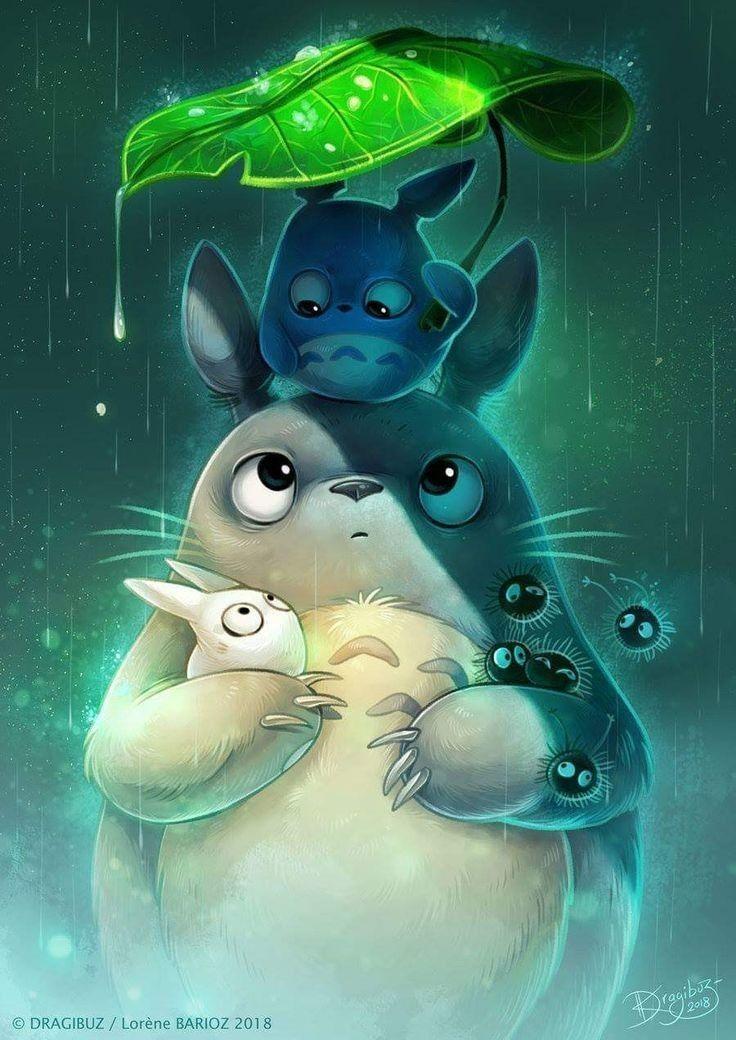 Pin by ibis on Studio Ghibli in 2020 Totoro art, Studio