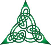 Celtic knot - influenced by illustration in the Lindisfarne Gospels  Wikipedia, the free encyclopedia