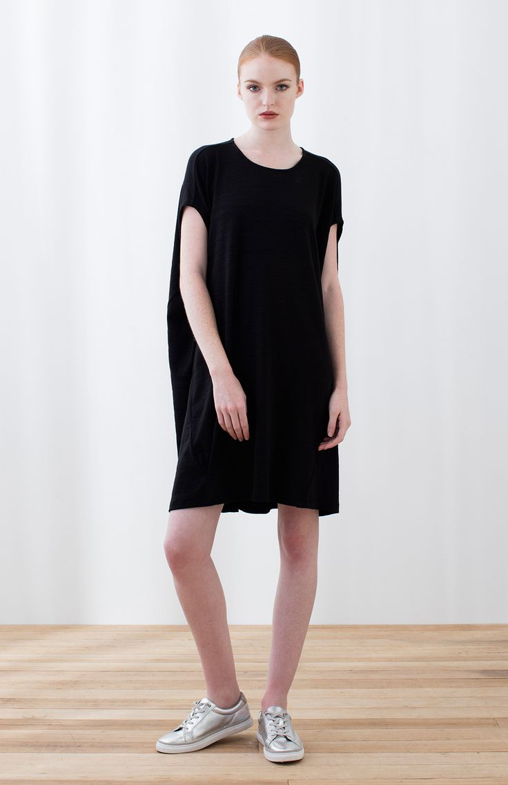 Black t shirt dress etsy - Elk Accessories Abstract T Shirt Dress