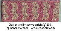 Printing Page for the Solid Shell Stitch Wide Winter Headband Free Pattern