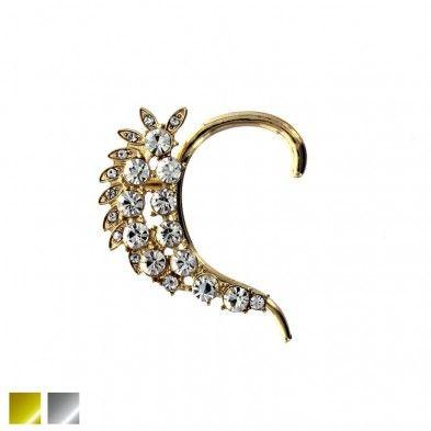 Octavia - Bijou d'oreille floral et Pierres Prestige Code:D46545918 19.99$