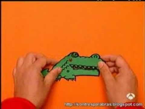 Postal- crocodilo