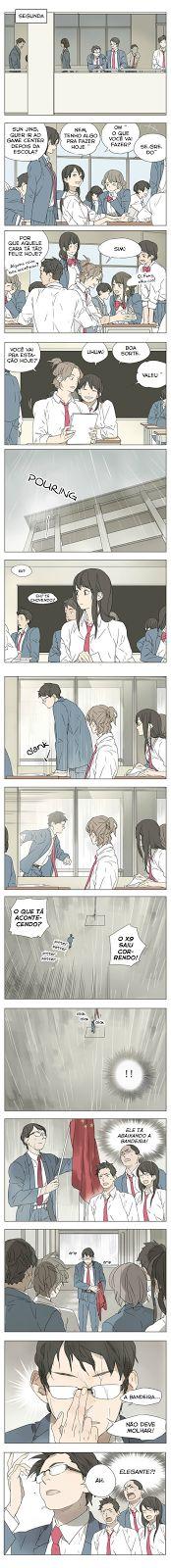 Armazém Yuri - Galeria de mangás: Tamen de Gushi - Capítulo 06