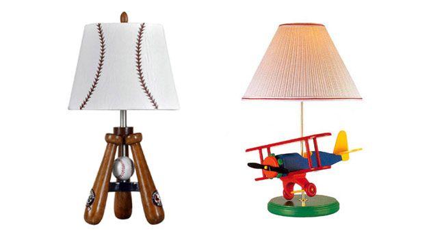 Boys Bedroom Lamps