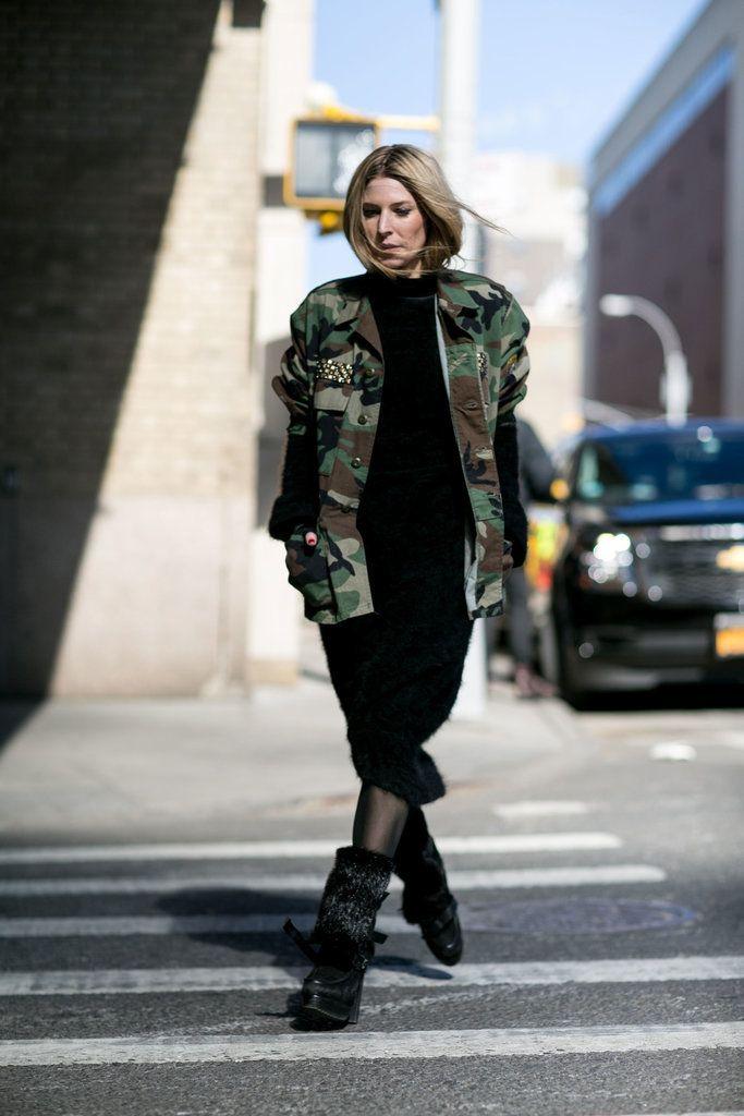 Camouflage jacke damen new yorker