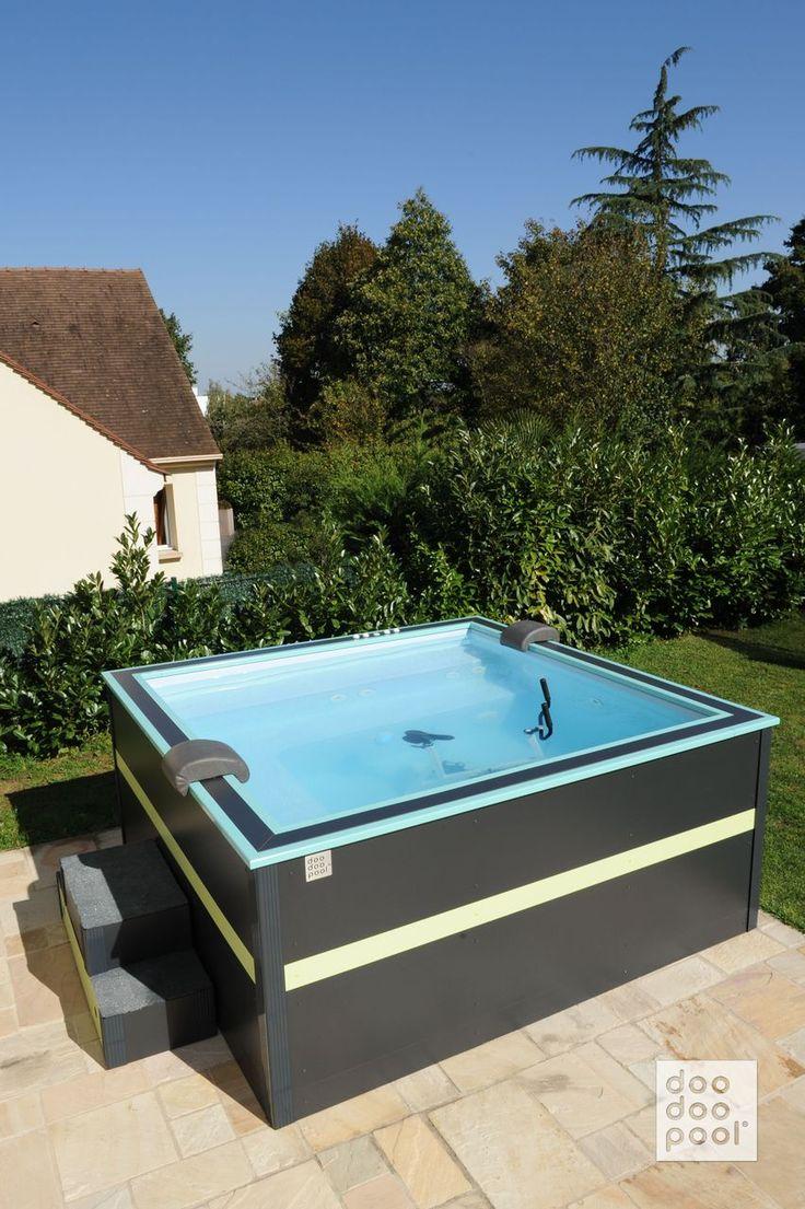 14 best une doodoopool tonique en noir et vert images on for Design piscine et spa manosque