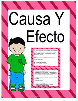 Cause and effect task cards: 24 paragraph cards to help students identify cause and effect relationships in text. It includes 12 task cards for students to identify the cause, and 12 to identify the effect.
