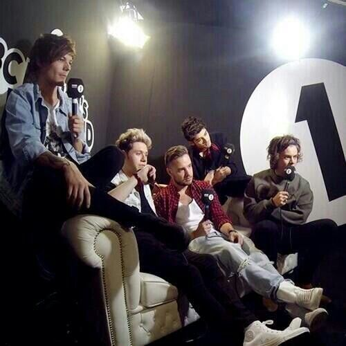 OneD interview on radio 1