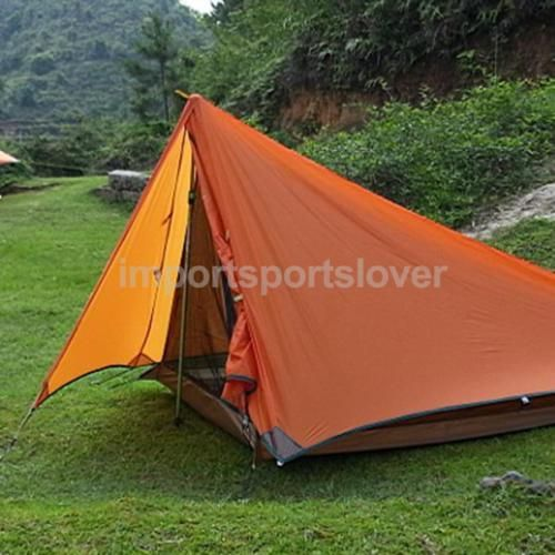 2-layer outdoor #trekking hiking survival #backpacking tent basha rain #shelter,  View more on the LINK: http://www.zeppy.io/product/gb/2/152193000104/