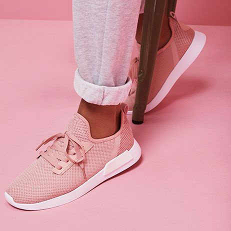 Colour block trainers- the go to spring essential!