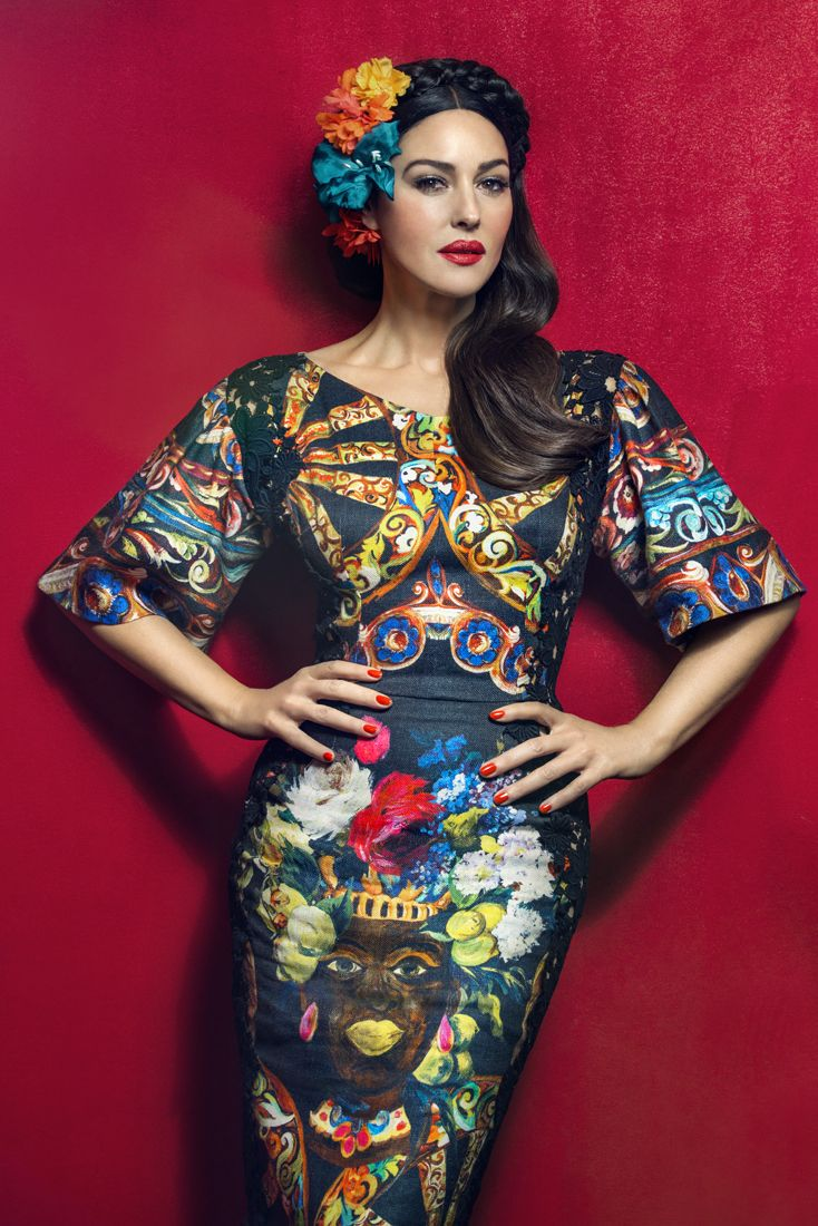 Monica Bellucci for Harper's Bazaar   Photographer Signe Vilstrup