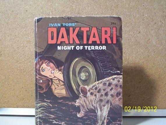 Daktari Night of Terror BIg Little Book by WellTravldCollection, $5.40