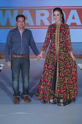 Warda Prints Collection at Pakistan Fashion Week 8 London 2015   Latest Fashion Trends and Tips