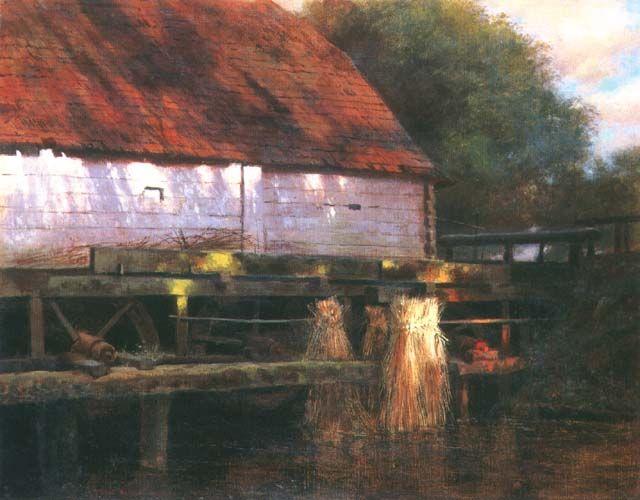 Józef Rapacki - Stary młyn, 1902