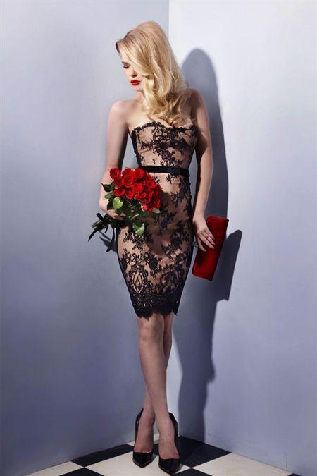 Dinner w him corset dress - WHEELS & DOLLBABY