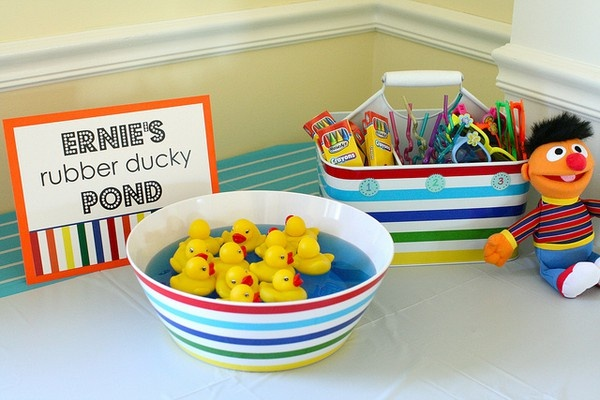 Great ideas for a Sesame Street birthday partyStreet Birthday, Birthday Parties, Rubber Ducky, Sesame Streets, Parties Ideas, 2Nd Birthday, Street Parties, Elmo Parties, Parties Games