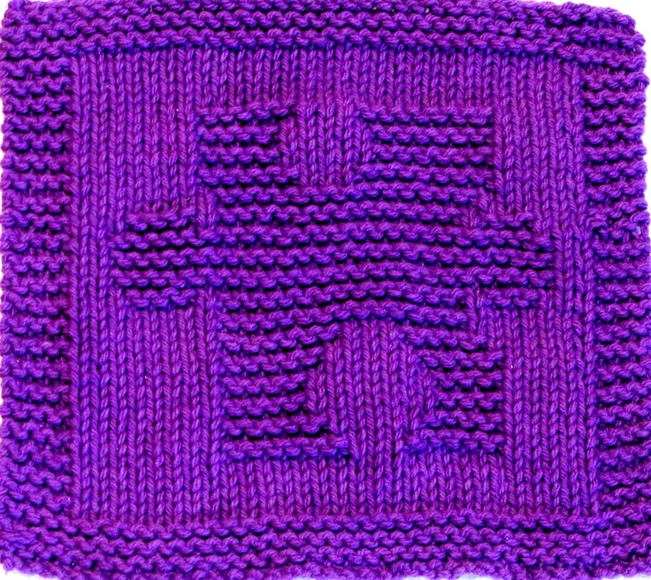 Knitting Materials For Beginners : Knitting cloth pattern puzzle piece autism awareness