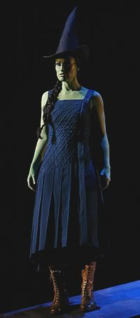 Elphaba Ballroom Costume from Wicked the Musical