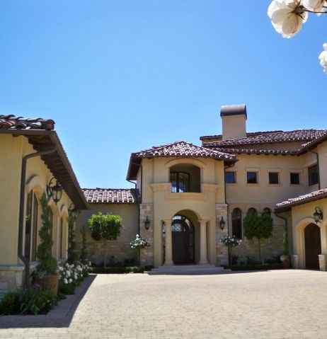 Spanish style home..can't wait to pay off my cars and build my own home!