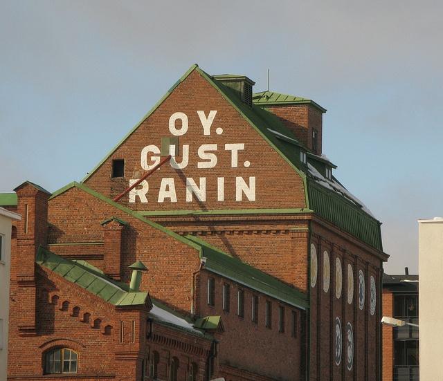 Old mill of Gust. Ranin near Kuopio harbor.