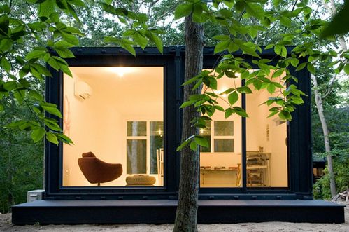 Insta House by Maziar Behrooz Architecture | #OrganicSpaMagazineContainer Homes, Studios Spaces, Art Studios, Studios Offices, Offices Spaces, Ships Container House, New York, Ships Container Home, Shipping Containers