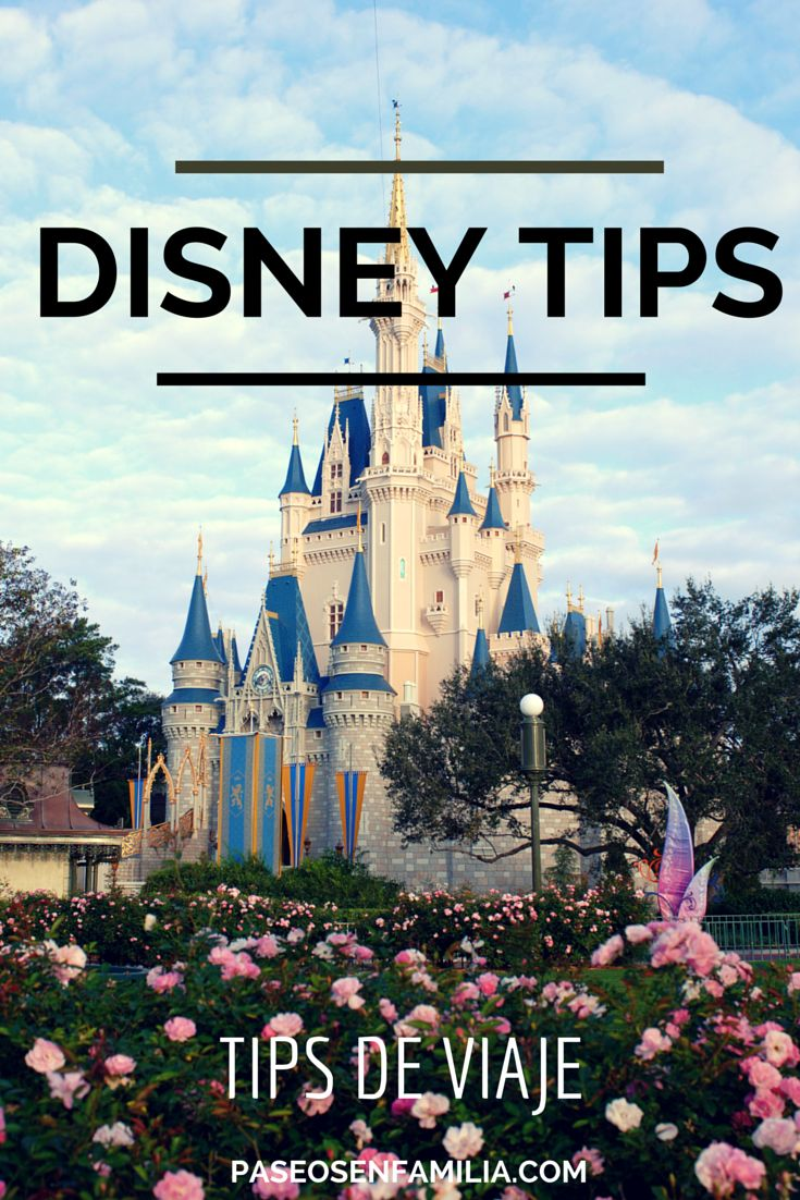 Tips de viaje para visitar @waltdisneyworld . Vacaciones en Disney.