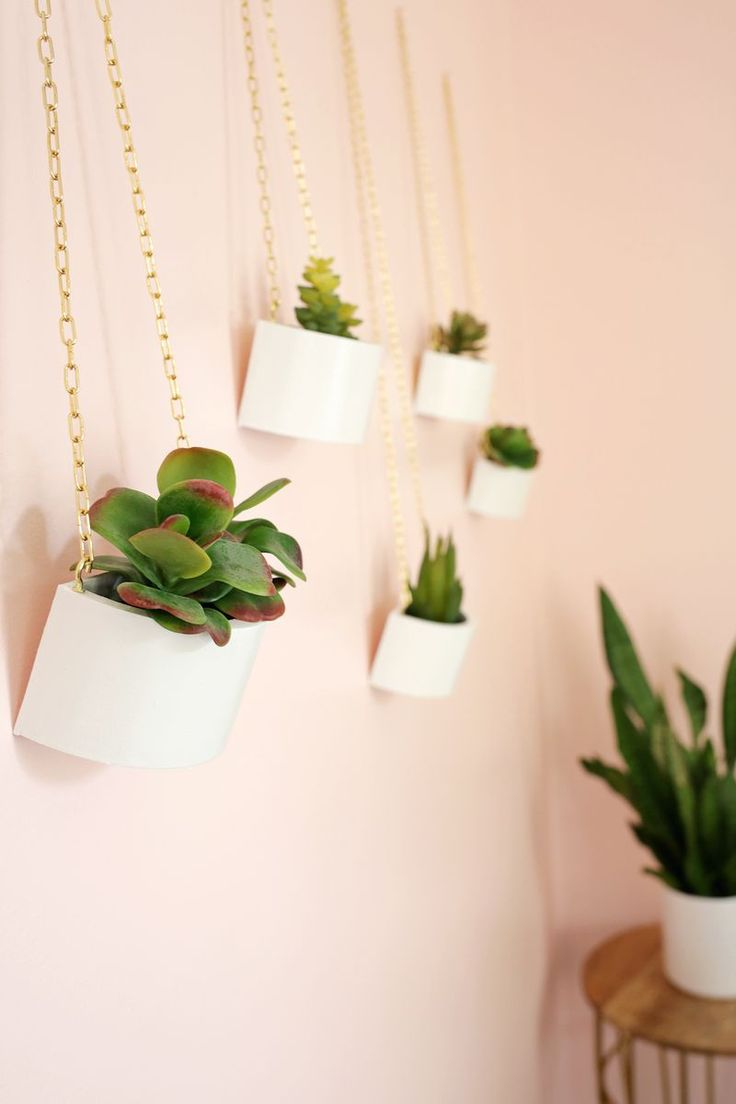 Make A Cute Hanging Planter From A Round Wooden Box 400 x 300