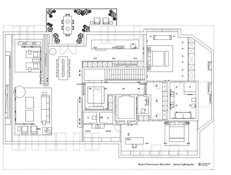 LIGHTING PLAN Residential design by Domestic Design