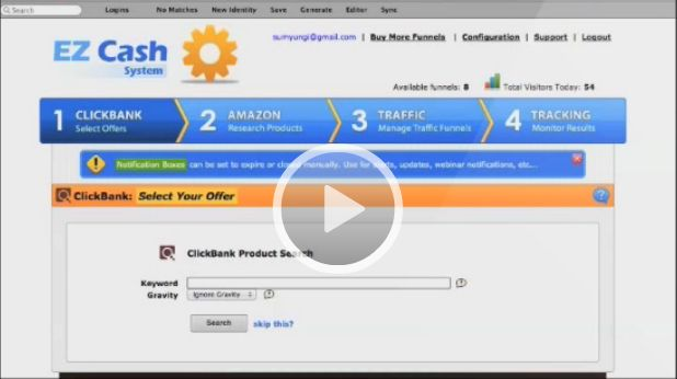EZ Cash System Review and Download – The Easiest Way for Any Affiliate to Start Making Money