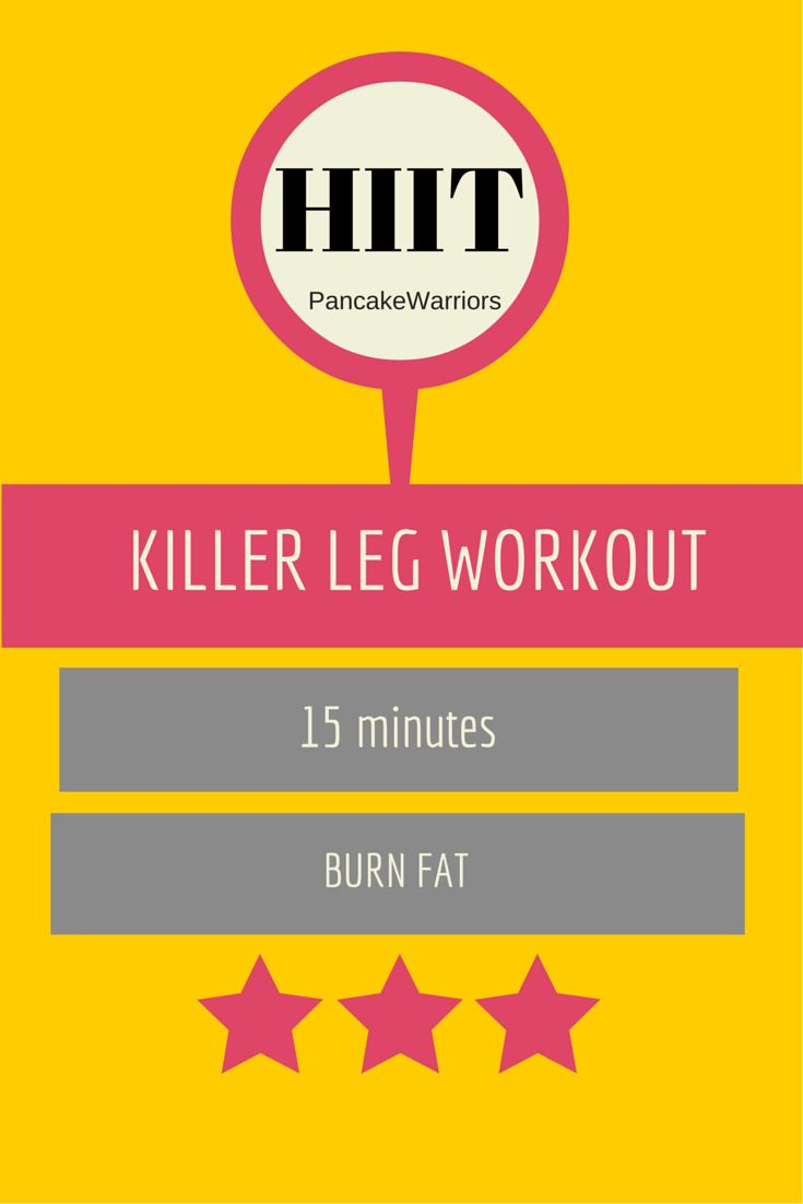 Killer Leg Workout | www.PancakeWarriors.com