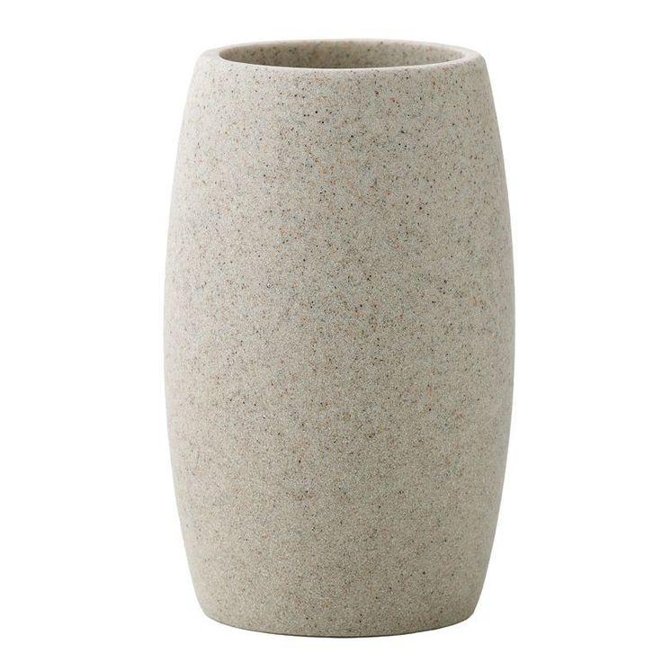 Home Classics® Stone Tumbler, Beig/Green (Beig/Khaki)